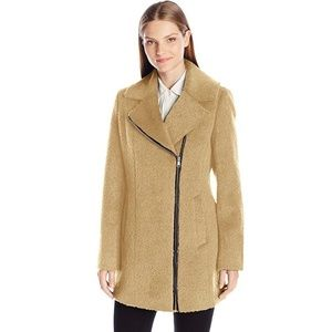 Wool Camel Coat by Andrew Marc